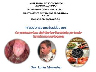 """UNIVERSIDAD CENTROOCCIDENTAL """"LISANDRO ALVARADO"""" DECANATO DE CIENCIAS DE LA SALUD"""