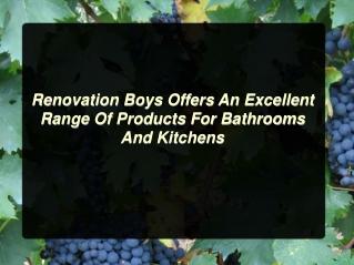 Renovation Boys - Australia