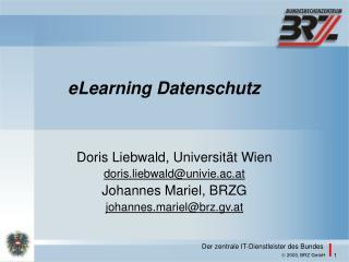 eLearning Datenschutz