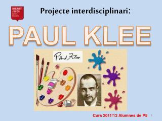 Projecte interdisciplinari :
