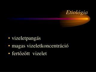 Etiológia