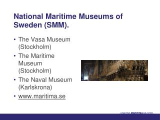 National Maritime Museums of Sweden (SMM).
