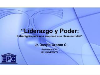 Jr. Danylo Orozco C