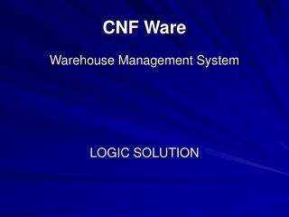 CNF Ware