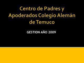 Centro de Padres y Apoderados Colegio Alemán de Temuco