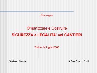 Stefano NAVA                                                         S.Pre.S.A.L. CN2