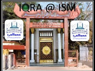IQRA @ ISM