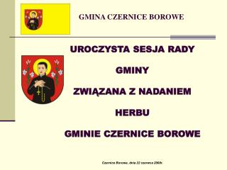 GMINA CZERNICE BOROWE