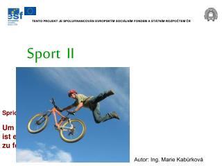 Sport  II