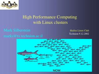 High Performance Computing  with Linux clusters
