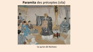Paramita  des préceptes (sila)