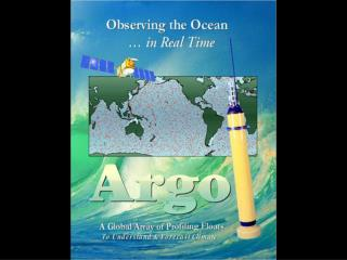 A presentation to the  Joint Technical Commission on Oceanography and Marine Meteorology
