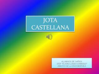 JOTA CASTELLANA