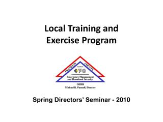 Local Training and  Exercise Program