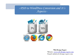 PSD to WordPress Conversion Process and Tips