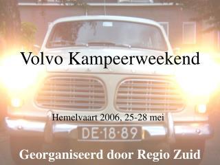 Volvo Kampeerweekend