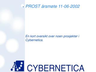 PROST årsmøte 11-06-2002