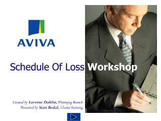 Schedule Of Loss  Workshop