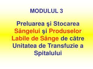 MODULUL 3