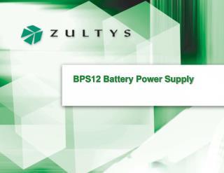 BPS12 Battery Power Supply