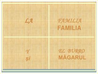 FAMILIA FAMILIA