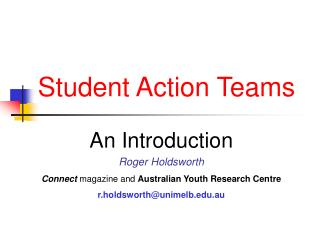 Student Action Teams
