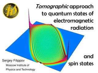 Tomographic  approach to quantum states of electromagnetic  radiation  and  spin states
