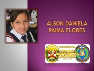 ALSON DANIELA PAIMA FLORES