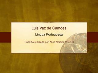 Luis  Vaz  de  Camões