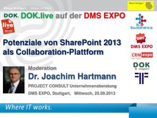 Potenziale  von SharePoint 2013  als  Collaboration- Plattform
