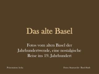 Das alte Basel