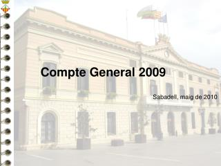 Compte General 200 9