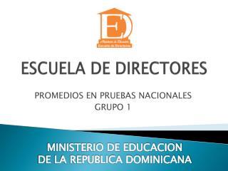 ESCUELA DE DIRECTORES