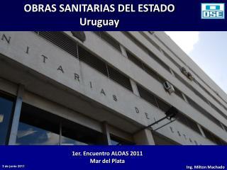 OBRAS SANITARIAS DEL ESTADO Uruguay