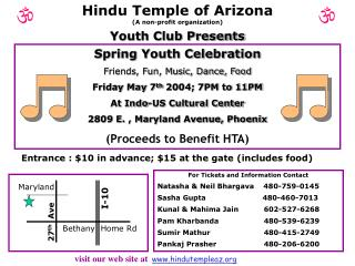 Hindu Temple of ArizonaA non-profit organization