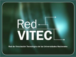 Red de Vinculación Tecnológica de las Universidades Nacionales