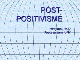POST-POSITIVISME