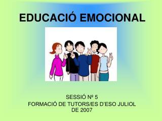 EDUCACI  EMOCIONAL