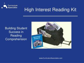 High Interest Reading Kit