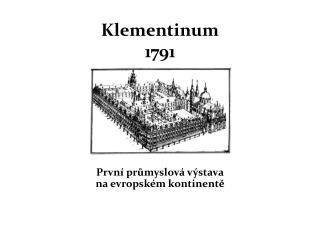 Klementinum 1791