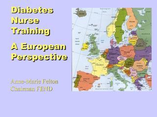 Diabetes Nurse Training  A European Perspective
