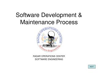 Software Development & Maintenance Process