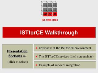 ISTforCE Walkthrough