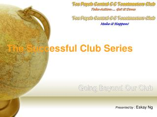 The Successful Club Series Going Beyond Our Club
