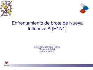 Enfrentamiento de brote de Nueva Influenza A (H1N1)