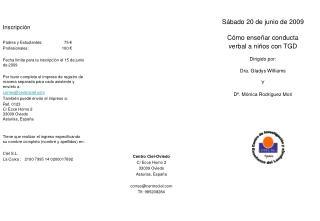 Centro Ciel-Oviedo C/ Ecce Homo 2 33009 Oviedo Asturias, Espa�a correo@centrociel