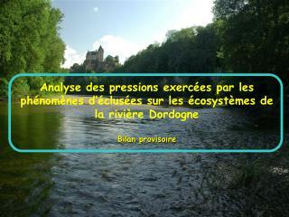 Les am�nagements hydro�lectriques du BV de la Dordogne