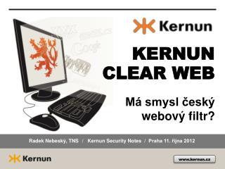 Má smysl český webový filtr?