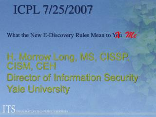 ICPL 7/25/2007