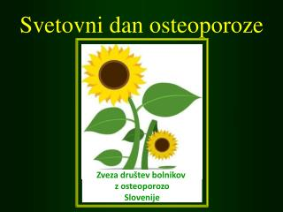 Svetovni dan osteoporoze